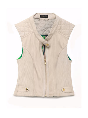 NICOLE LEATHER VEST