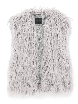 REVOLUTION SHAG FUR VEST