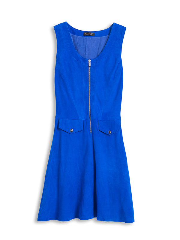 BELLERIVE SUEDE DRESS