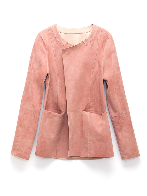 Chiara Reversible Leather Jacket