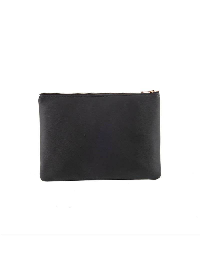 AS by DF MONOGRAM MINI CLUTCH