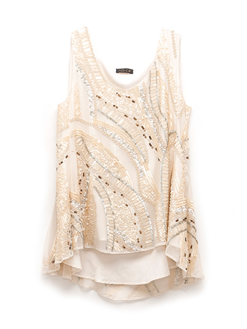 JEMMA SEQUIN TUNIC