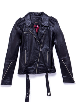 London Stud Leather Jacket