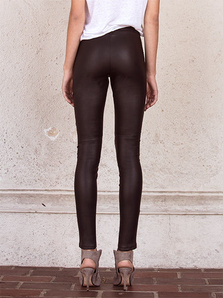 MCKENNA STRETCH LEATHER LEGGINGS
