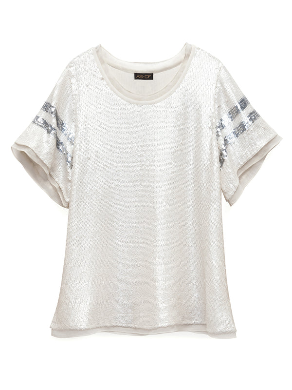 RAY SEQUIN TEE