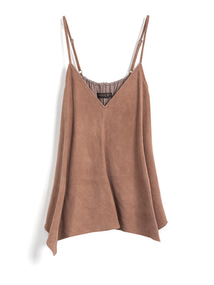 WINDY CITY SUEDE CAMI