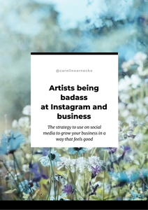 Artists being badass at Instagram and Business