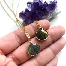 Load image into Gallery viewer, Labradorite Necklace