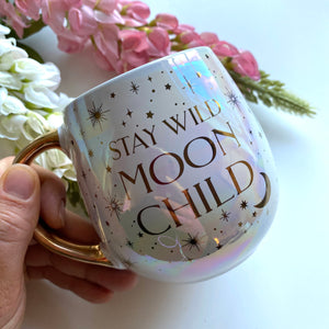 Moon Love Stoneware Mug
