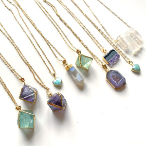 Flourite Magic Necklace