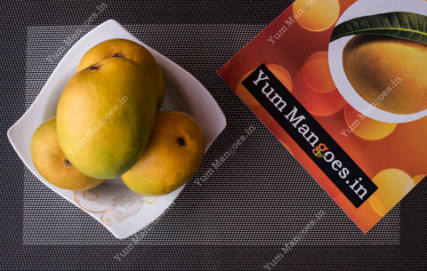 Large Alphonso Mangoes from Ratnagiri