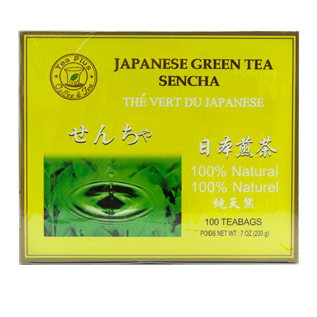 TEA PLUS SENCHE TEA 聯華茗茶 (100 TEA BAG)