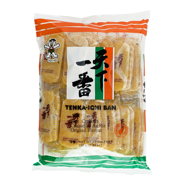 HOT-KID TENKA-ICHIBAN RICE CRACKERS 天下一番米果