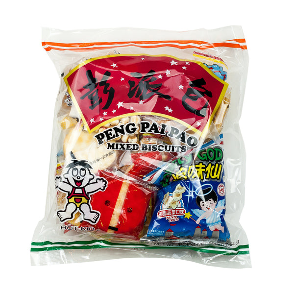 HOT-KID PENG PAI PAO MIX BISCUITS 彭派包