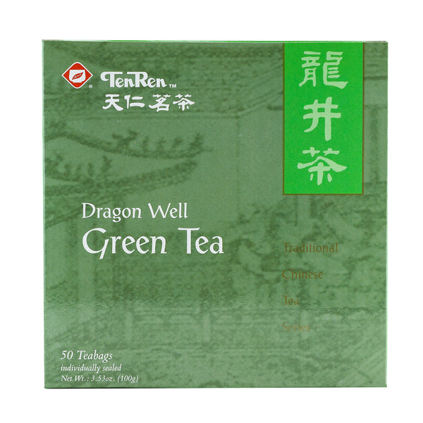 TEN REN'S DRAGON WELL GREEN TEA 天仁 龍井綠茶