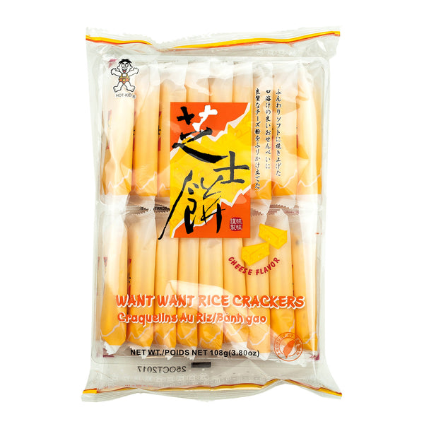 HOT-KID FRIED CHEESE RICE CRACKERS 芝士餅