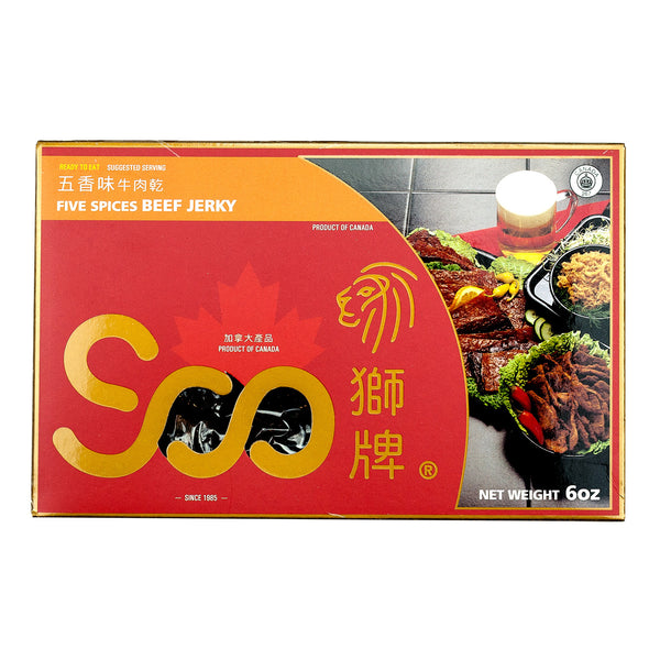 SOO FIVE SPICES BEEF JERKY 五香牛肉乾 (禮盒)