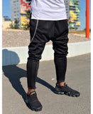 Black trousers with chain - Fatai Style