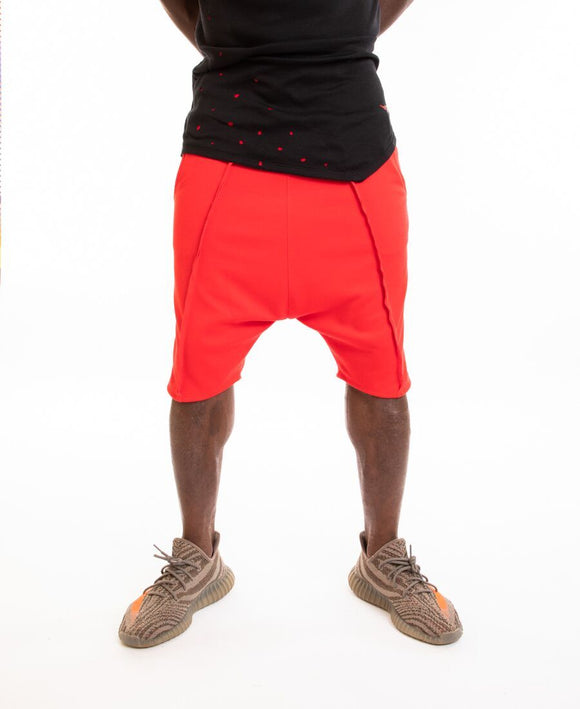 Red short trousers - Fatai Style