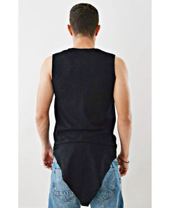Sleeveless Top ''All Black'' - Fatai Style
