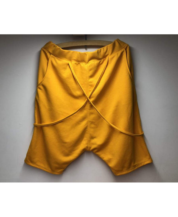 Short trousers yellow with special design - Fatai Style