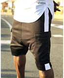 Short Trousers with white line and side pocket - Fatai Style