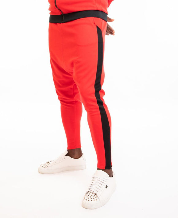 Red trousers with black line - Fatai Style