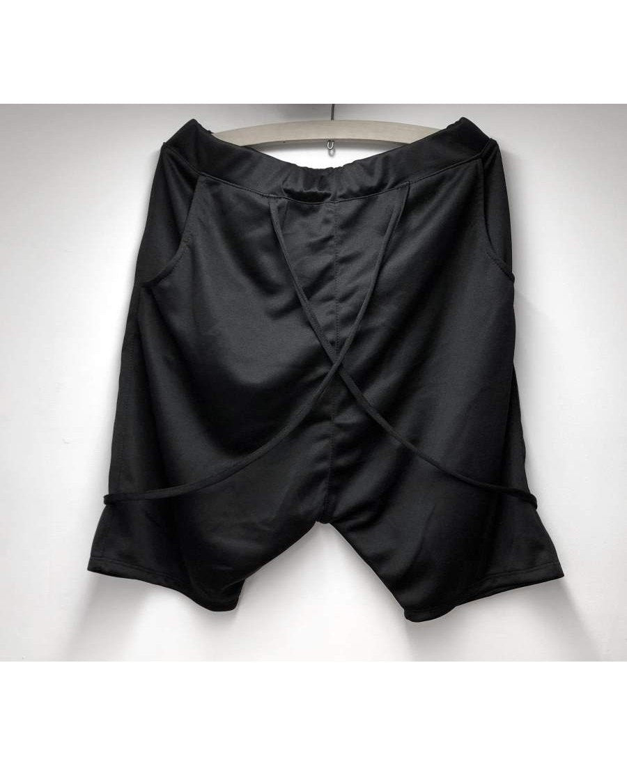 Short Trousers black with special design - Fatai Style