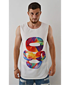 Sleeveless Top ''Colorful'' - Fatai Style