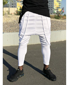 White trousers with great design - Fatai Style