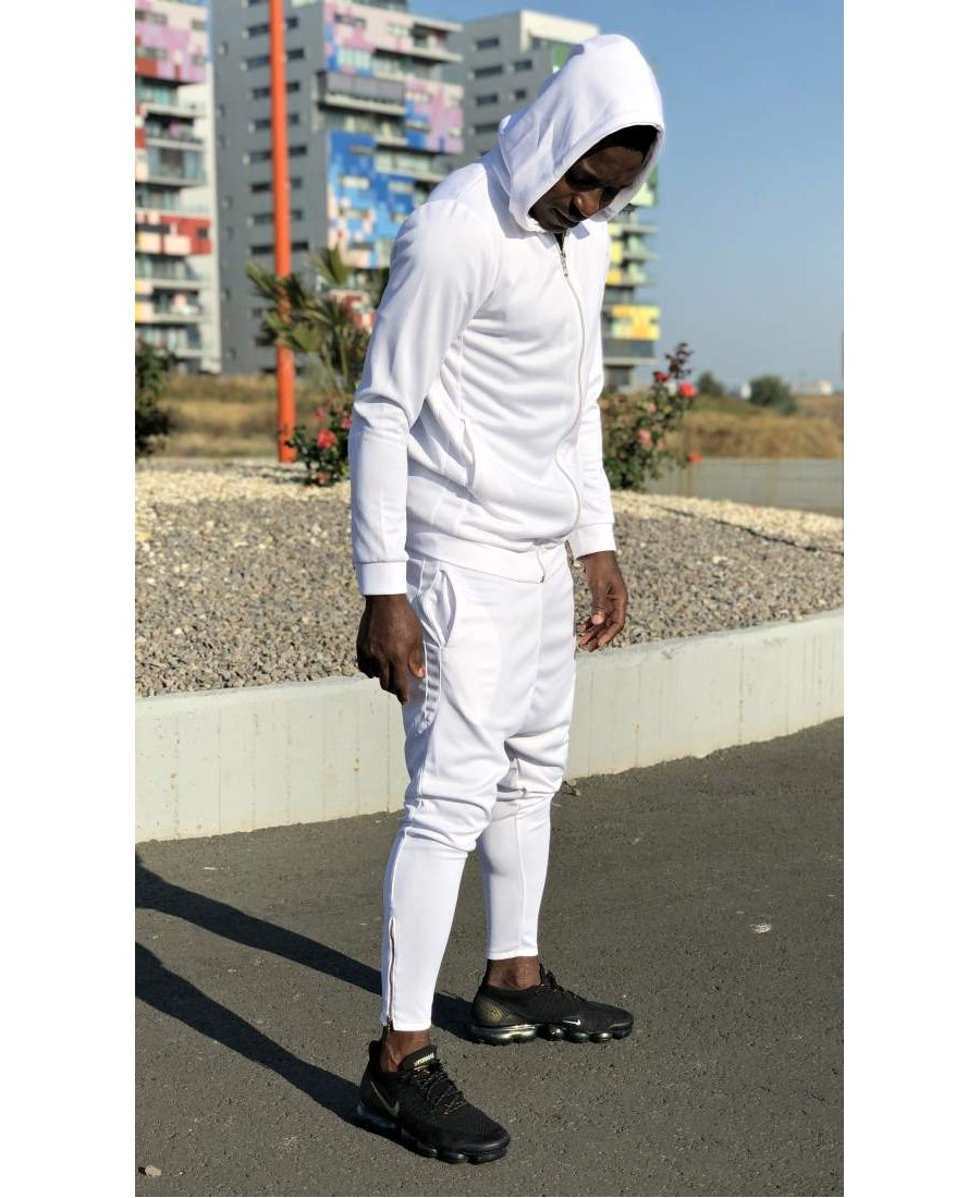 All White Tracksuit - Fatai Style