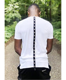White t-shirt with metal accesories - Fatai Style