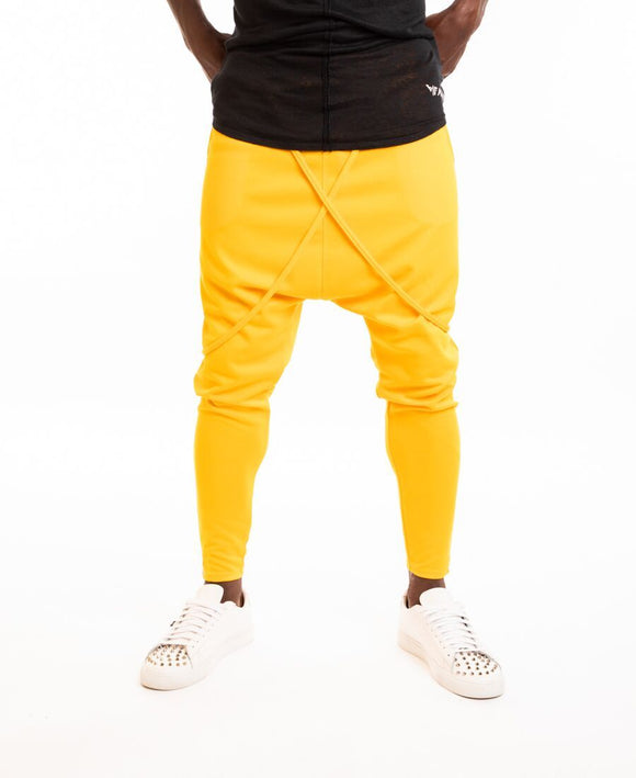 Yellow trousers with special design - Fatai Style