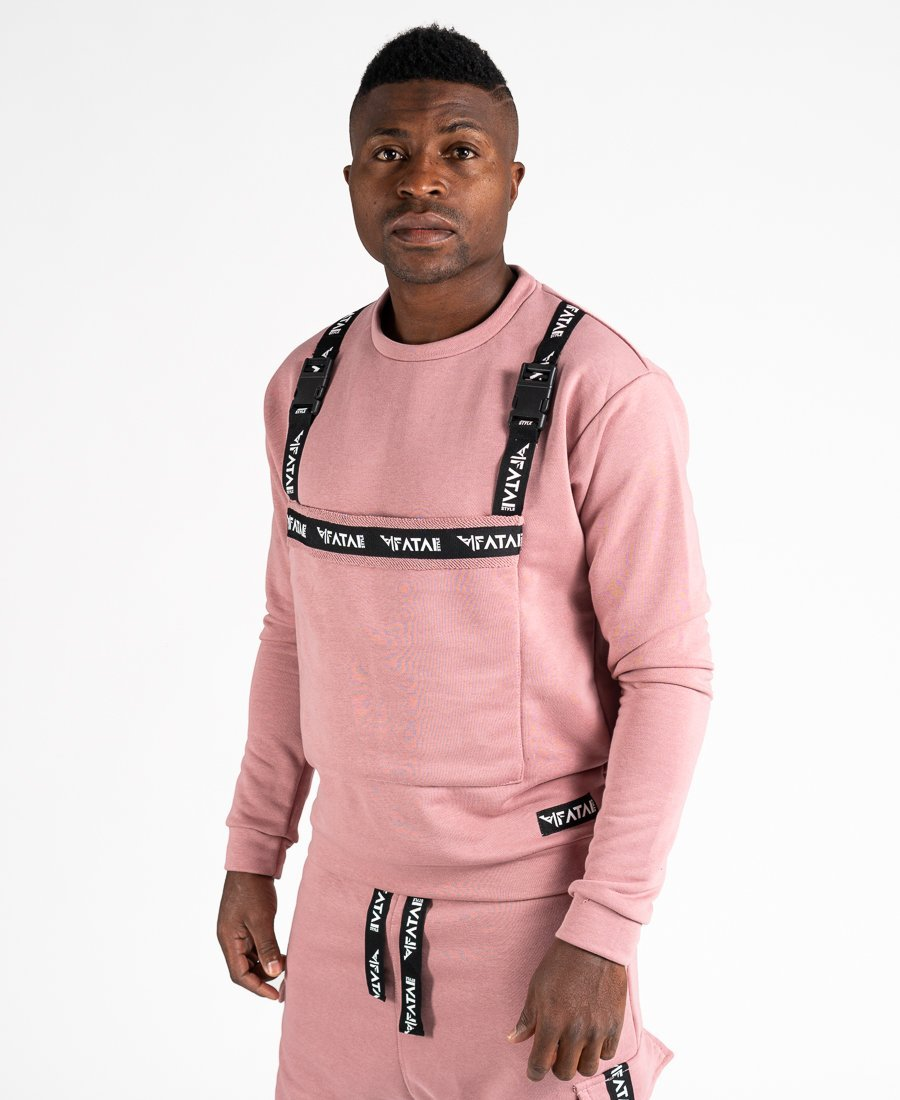 Pink sweater with accesories - Fatai Style