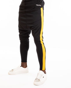 Black trousers with yellow line - Fatai Style