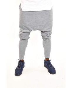 Grey trousers with front design - Fatai Style