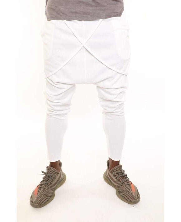 White trousers with special design - Fatai Style