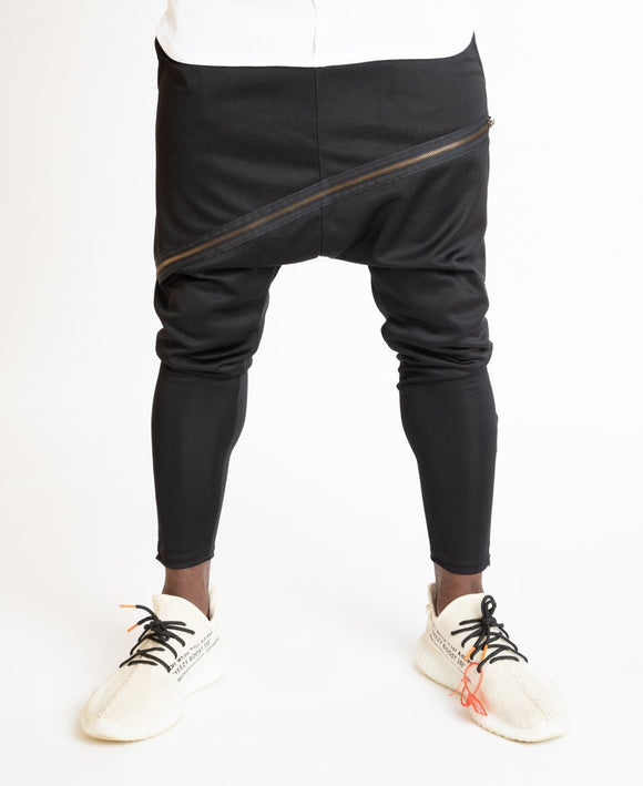 Trousers with long zip attached - Fatai Style