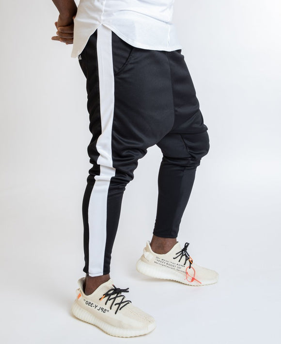 Black trousers with white line - Fatai Style