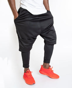 Trousers 2 in 1 short over long - Fatai Style