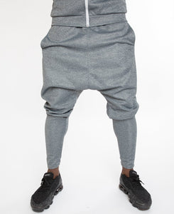 Grey shadow tracksuit trousers - Fatai Style