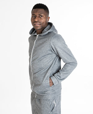 Grey shadow tracksuit blouse - Fatai Style