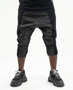 Short Black trousers with fold - Fatai Style