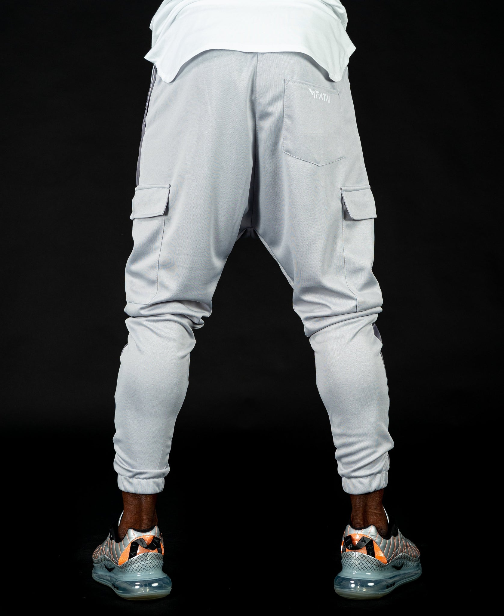 Light Grey trousers with side pocket - Fatai Style