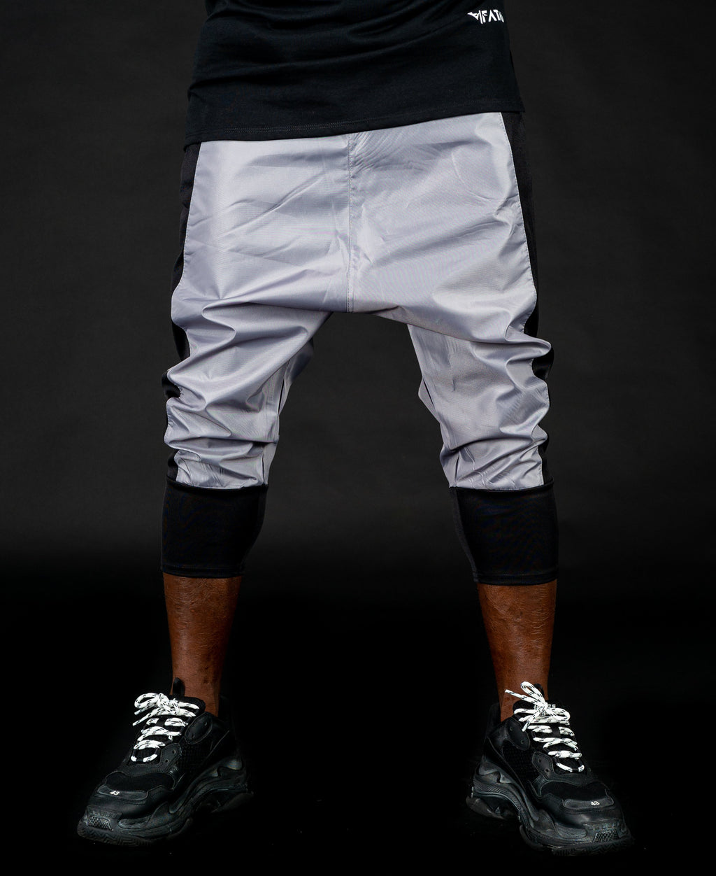 Short trousers black and grey - Fatai Style