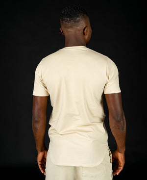 Beige t-shirt with special design - Fatai Style