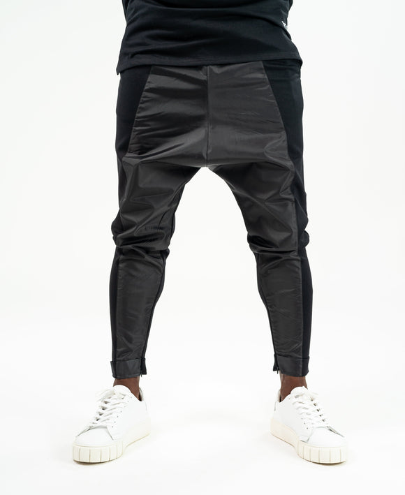 Black trousers with fold - Fatai Style
