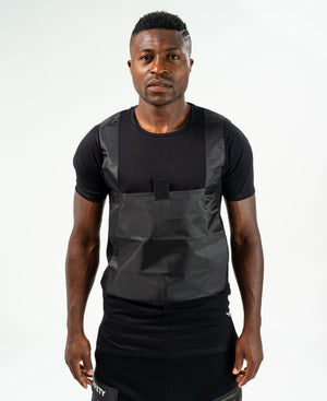 Black t-shirt with bulletproof design - Fatai Style