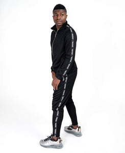 Black tracksuit with big F-sign - Fatai Style