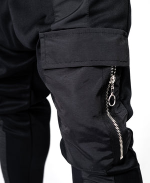 Black trousers with straight black line and one pocket - Fatai Style